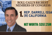 Is Issa still the richest member of Congress?