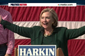 'I'm Ba-ack': Hillary Clinton hints at 2016