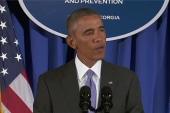 Obama: Ebola virus 'spiraling out of control'