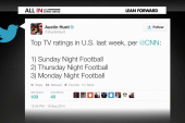 NFL continues to rate high, amid scandals