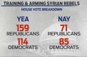 Is supporting the Syrian rebels the only...