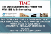 A propaganda war between the US and ISIS