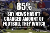 NFL controversy won't keep fans from football