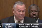 Congress authorizes arming Syrian rebels