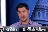 Iraq War vet talks training Syrian rebels
