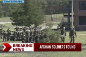 Three missing Afghan army officers found