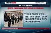 ISIS to US: 'Your forces will return'