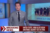 US, Arab allies begin strikes against ISIS