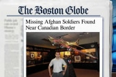 Missing Afghan soldiers found near Canada