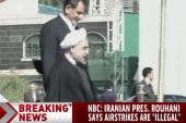 Iranian president: Airstrikes 'illegal'