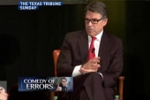 Rick Perry analogy falls flat