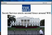 Secret Service adds second White House fence