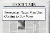 Man uses cocaine to buy votes in Texas