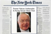 Fmr. Vatican Amb. to face sex abuse trial