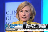 Will Hillary Clinton comment on US strikes?