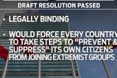 UN Security Council passes anti-terror...