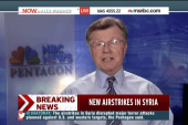 US reports more new airstrikes in Syria