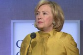 Hillary Clinton shows support for airstrikes