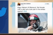 First female UAE pilot part of ISIS strikes