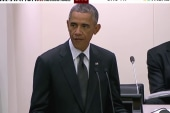 Obama: Ebola growing threat to security