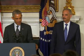 Eric Holder's 'greatest achievement'