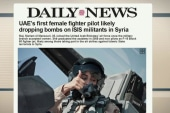 'Powerful' to see woman conducting airstrikes