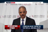 Holder: DOJ will still fight for voting...