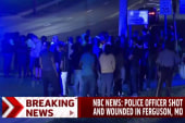 Report: Ferguson police officer shot