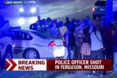 Police officer shot in Ferguson