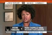 State Sen. claims Ferguson PD hog ties...