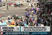 The 'Umbrella Revolution' grows in Hong Kong