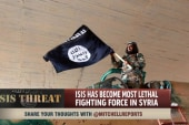 How did ISIS become a threat?