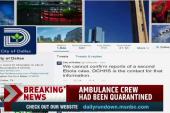 Dallas crew tested negative for Ebola