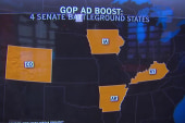 GOP out-advertising Dems in four swing states