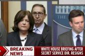 WH: New leadership for Secret Service...