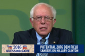 Bernie Sanders 'giving thought' to 2016 run
