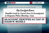 Is there a Ferguson grand jury leak?