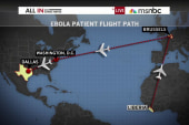Four quarantined where Ebola patient fell ill