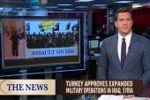 Turkey approves operations against ISIS