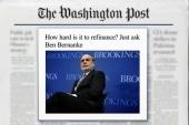 Former Fed chair denied mortgage refinancing