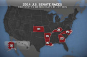 Dems' path to survival runs through red...