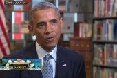 Obama pushes back on corporate deserters