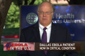 Focus on who had contact with Ebola patient