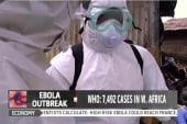 Officials battle Ebola outbreak in Liberia