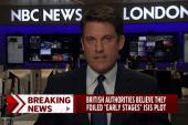 Four men arrested in alleged UK terror plot