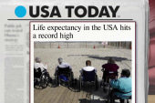 American life expectancy hits a new high
