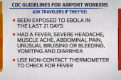 Ebola scares airports into action