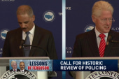 Holder and Clinton on lessons from Ferguson