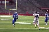 High school football hazing halts games