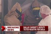 Deputy tests negative for Ebola